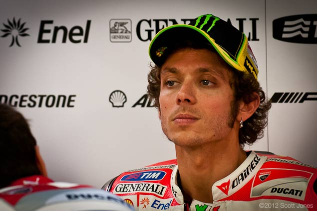 An Analysis of Valentino Rossis Options for the Future Valentino Rossi Ducati Corse Scott Jones