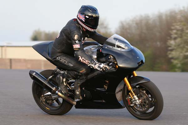 Norton V4 Gets Shakedown Test Ahead of Isle of Man TT Norton V4 Isle of Man TT test 02