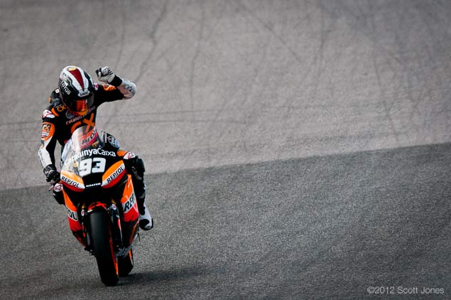 Interview: Is There Cheating in Moto2? marc marquez moto2 scott jones