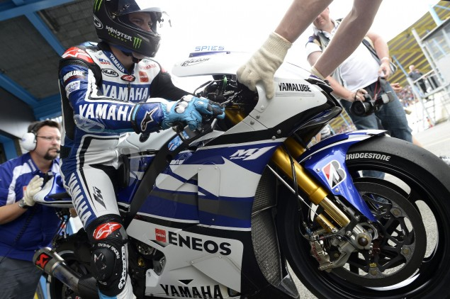 Thursday Summary at Assen: Its Not As Close As It Looks Ben Spies Assen MotoGP Yamaha 635x422