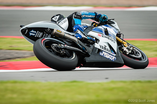 Saturday at Silverstone with Scott Jones Ben Spies