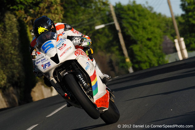 The 2012 Isle of Man TT with Daniel Lo bruce anstey 635