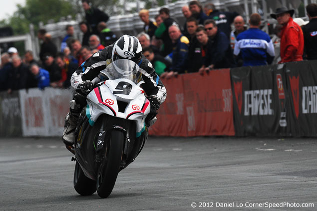 The 2012 Isle of Man TT with Daniel Lo michael dunlop 635