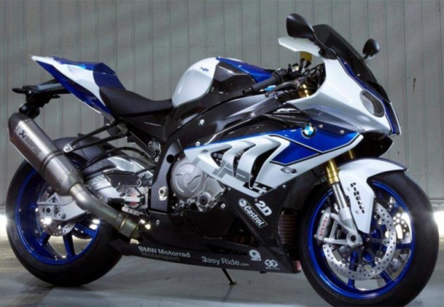 Spotted: 2013 BMW S1000RR HP4   20 lbs Lighter w/ BMWs Dynamic Damping Control (Semi Active Suspension) 2013 BMW S1000RR HP4 635x440
