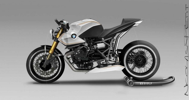 BMW R12 Concept by Nicolas Petit Motorcycle Crèation BMW R12 Concept Nicolas Petit Motorcycle Creation 03 635x339