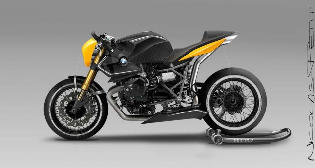 BMW R12 Concept by Nicolas Petit Motorcycle Crèation BMW R12 Concept Nicolas Petit Motorcycle Creation 04 635x339