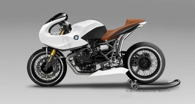 BMW R12 Concept by Nicolas Petit Motorcycle Crèation BMW R12 Concept Nicolas Petit Motorcycle Creation 07 635x339