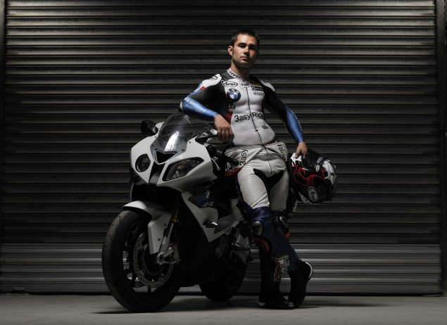 Leon Haslam Strips Down to Promote WSBK at Silverstone Leon Haslam body paint WSBK Silverstone 02 635x462