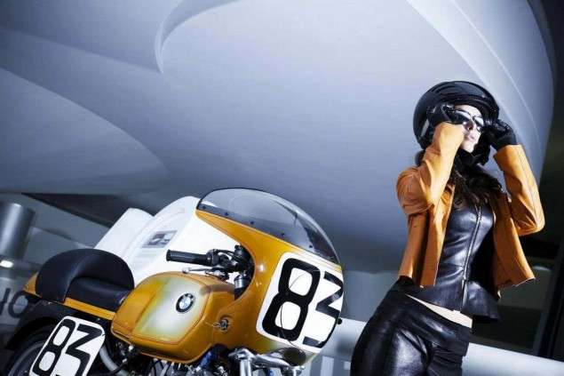 Photos: Manuela Raffaeta at the BMW Museum Manuela Raffaeta BMW Museum 04 635x423
