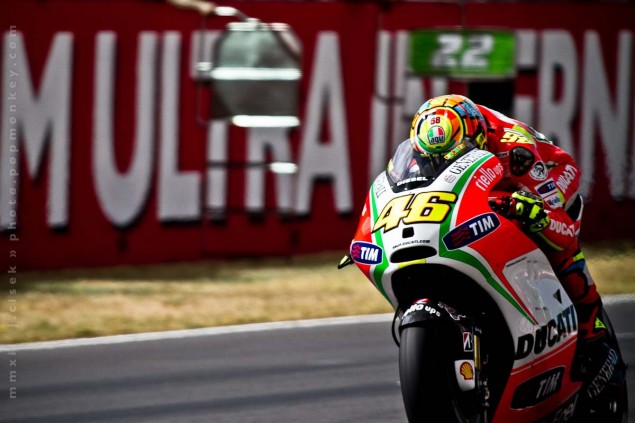 Rumor: Rossi + Marlboro + Yamaha = Wishful Thinking Mugello Italian GP MotoGP Thursday Jules Cisek 041 635x423