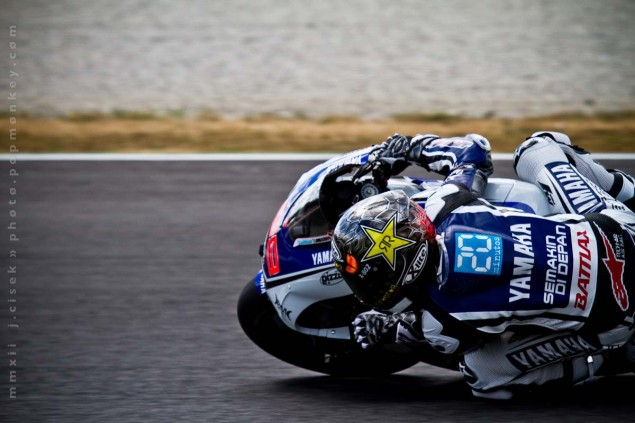 Friday Summary at Mugello: Lorenzos Speed, Stoners Attitude, & Bridgestones Tires Mugello Italian GP MotoGP Thursday Jules Cisek 06 635x423