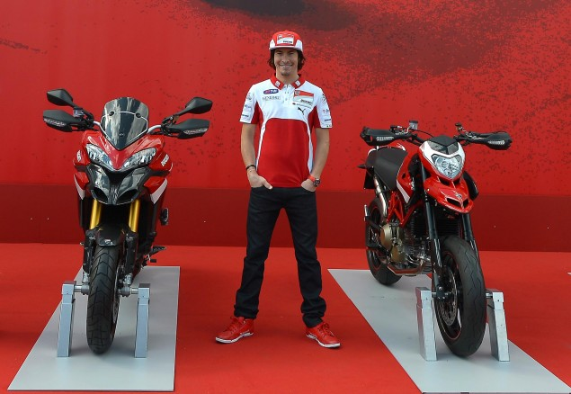 Officially Official: Ducati Corse Signs Nicky Hayden for 2013 MotoGP Team Nicky Hayden Ducati Corse 635x438