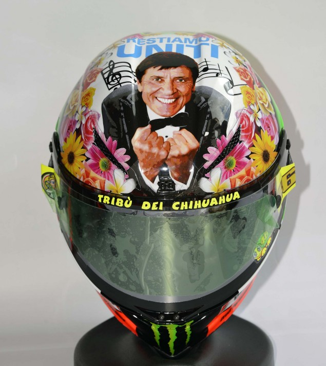 Rossis helmets are made here  Features  Motorcyclenewscom