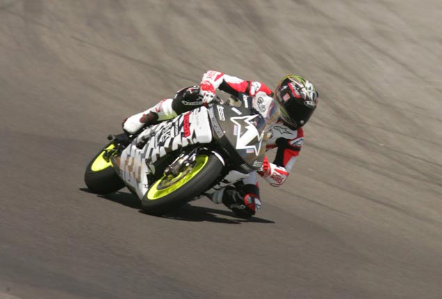 Eric Bostrom Racing the Brammo Empulse RR at Seca eric bostrom brammo empulse rr thunderhill crop