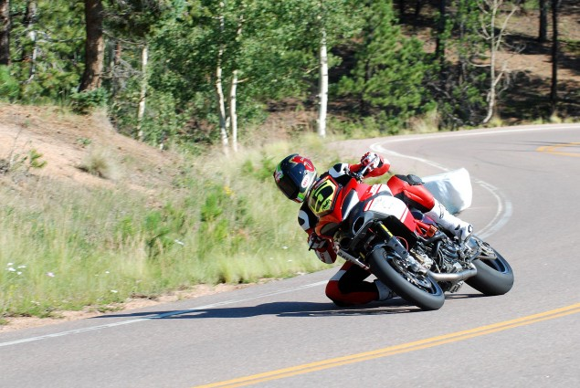 PPIHC: Carlin Dunne Takes Pole Position at Pikes Peak Carlin Dunne Ducati Spider Grips Pikes Peak 635x425