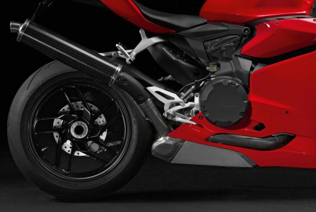 Sorry, The Japanese Spec Panigale is Not a Hoax Ducati 1199 Panigale Japan exhaust 635x425