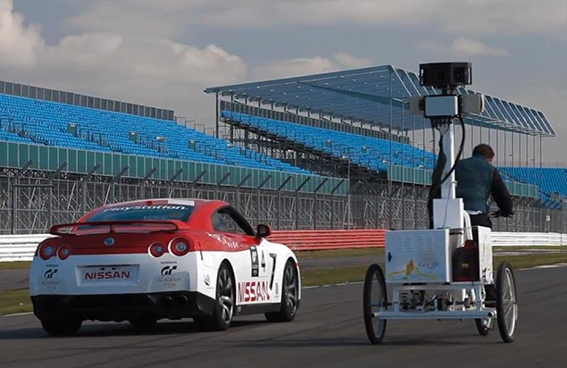 Video: Google Street View Does Silverstone Silverstone Google Street View video