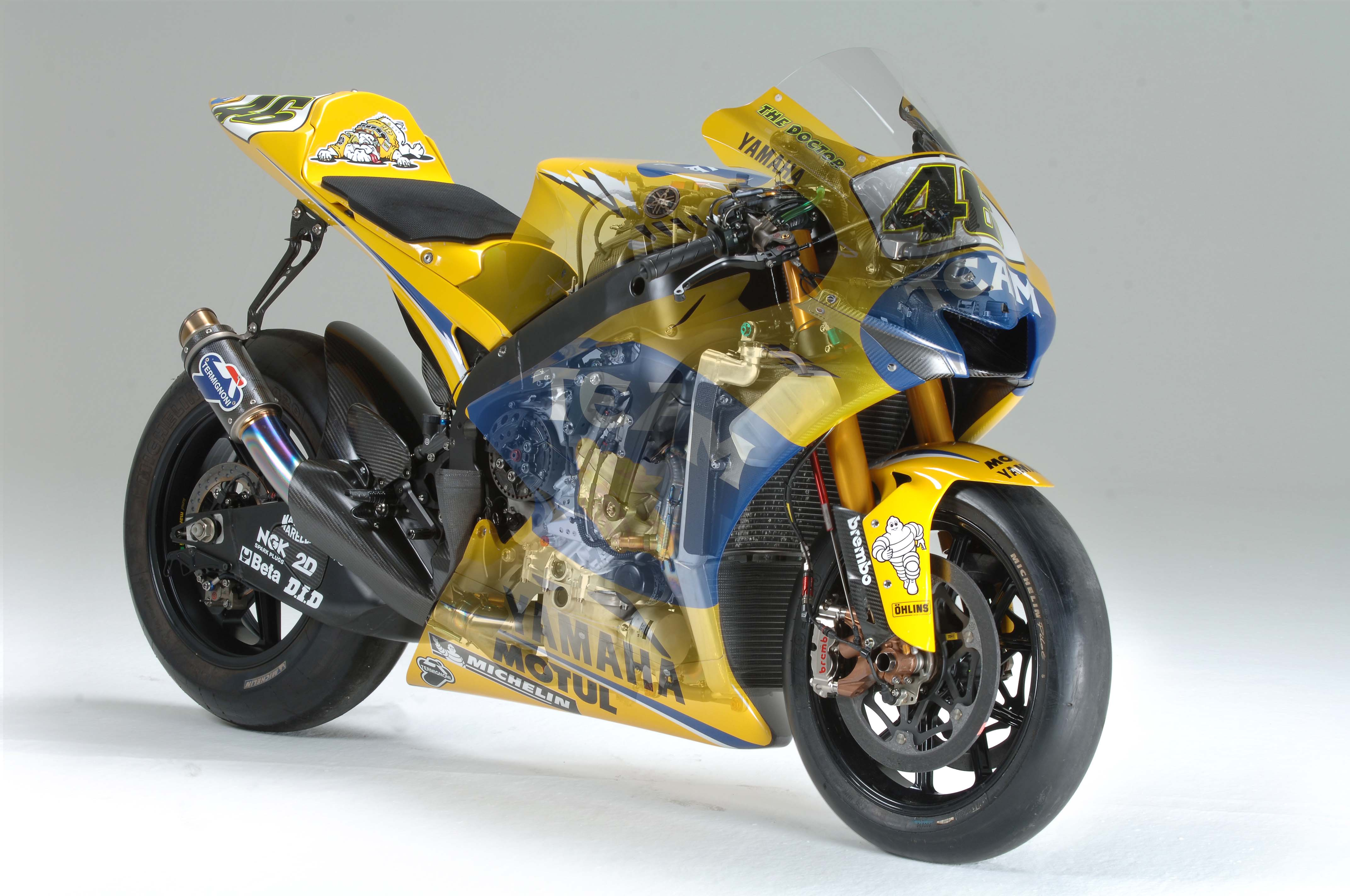 Vr46 39 s 2006 yzr m1 for Yamaha m1 for sale