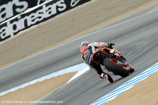 Trackside Tuesday: Hang Loose dani pedrosa t5 635