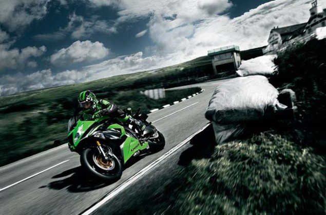 New Kawasaki Ninja ZX 6R Gets Traction Control for 2013 2013 Kawasaki Ninja ZX 6R 27 635x420