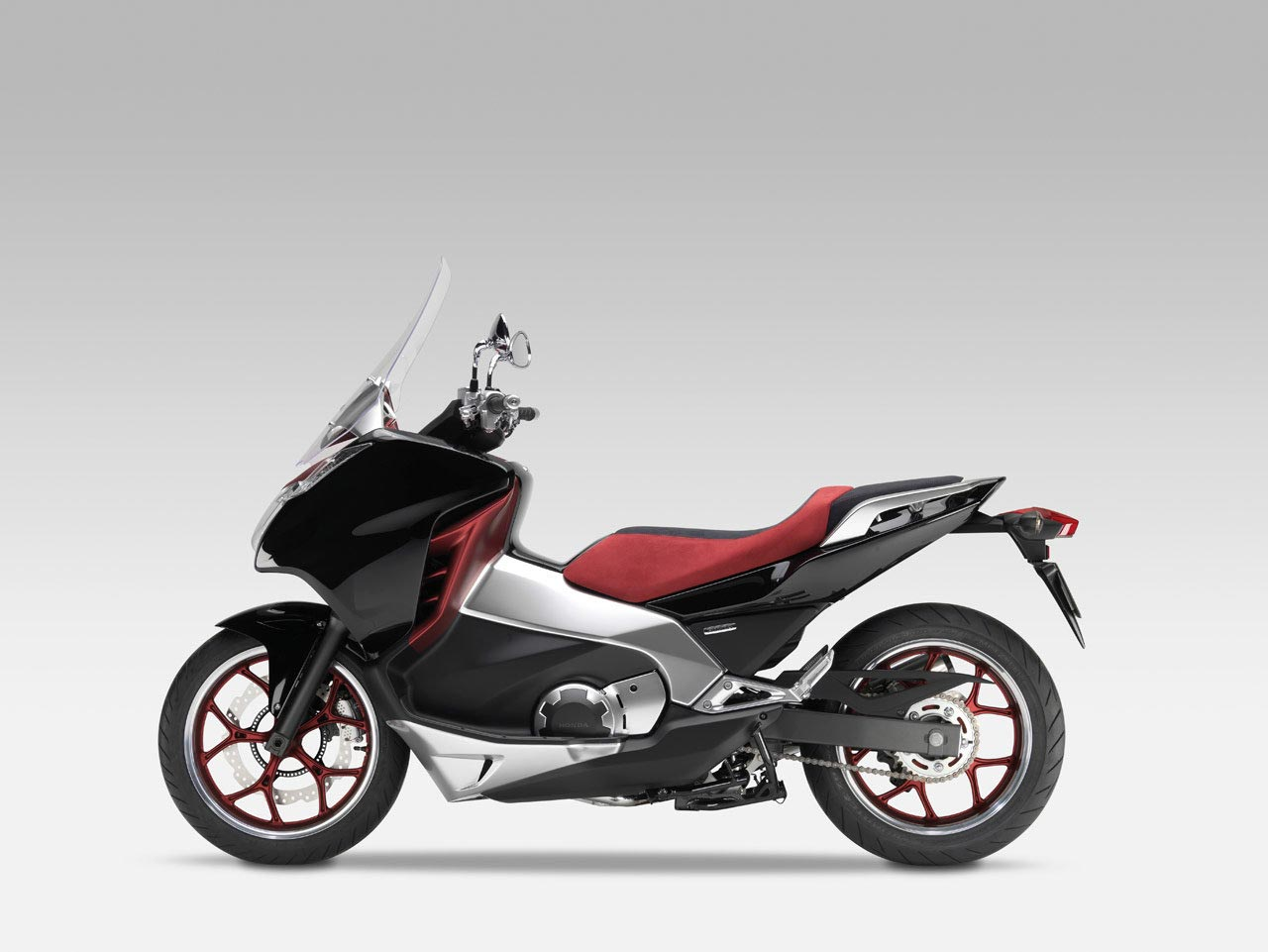 honda working on a scooter/motorcycle hybrid for the us - asphalt