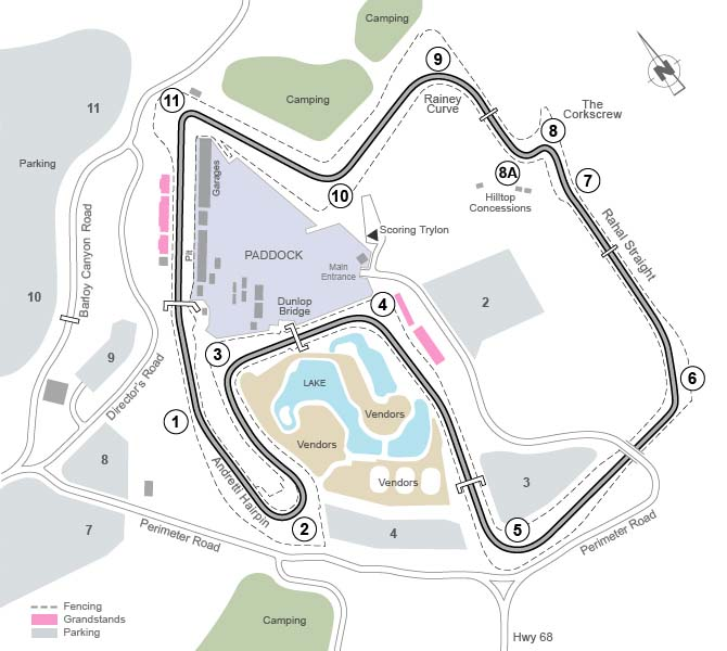 Mazda Raceway Laguna Seca >> Laguna Seca Returns to the World Superbike Calendar ...