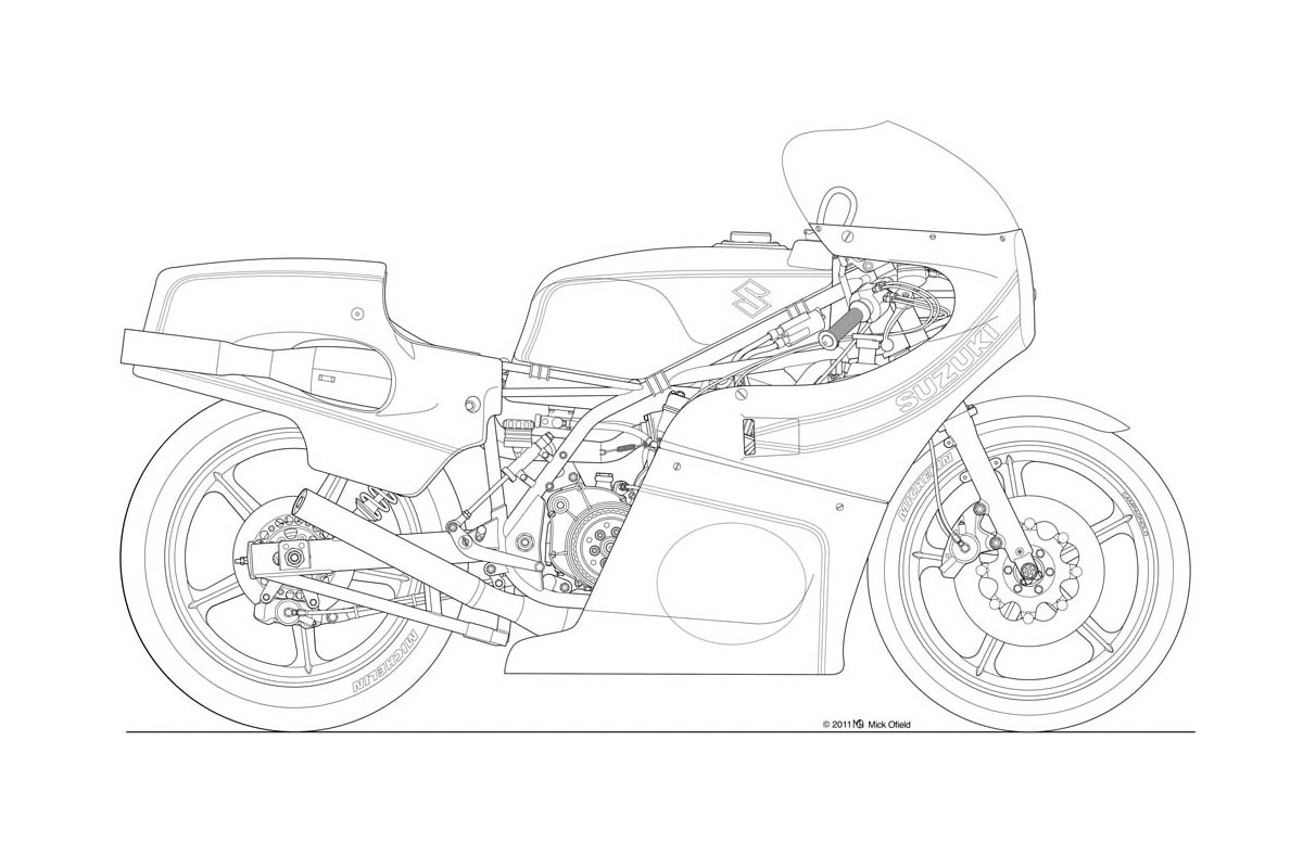 Motorcycle Drawing Rusi 125cc Wiring Diagram Images Of