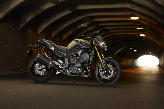 2013 Yamaha FZ8 Getting Minor Update for Next Year Yamaha FZ8 635x423
