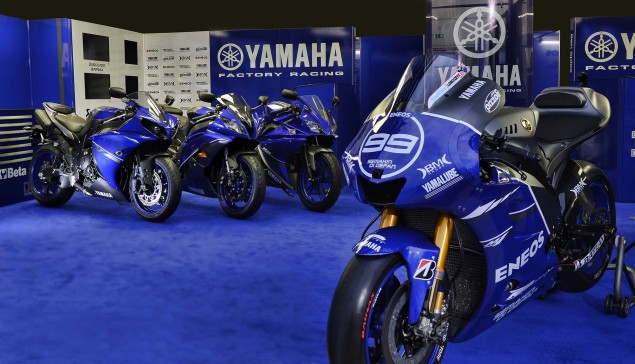 MotoGP: Yamaha Racing Goes Blu for Misano & Aragon Yamaha Racing YZR M1 Race Blue livery 02 635x364