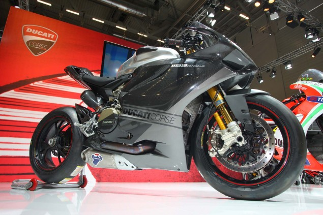 WSBK: Team Ducati Alstare With Checa & Badovini 2013 Ducati 1199 Panigale RS13 02 635x423