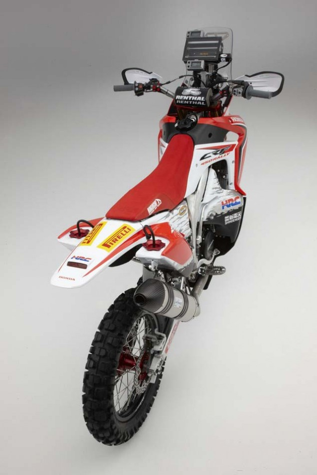 2013 Honda CRF450 Rally   Big Red is Ready for Dakar 2013 Honda CRF450 Rally Dakar 03 635x952