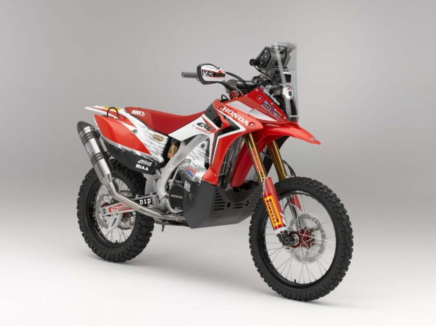 2013 Honda CRF450 Rally   Big Red is Ready for Dakar 2013 Honda CRF450 Rally Dakar 04 635x475
