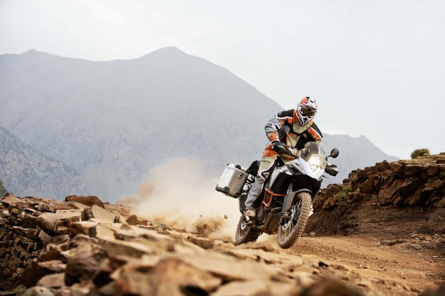 35 Photos of the KTM 1190 Adventure 2013 KTM 1190 Adventure R action 05 635x422