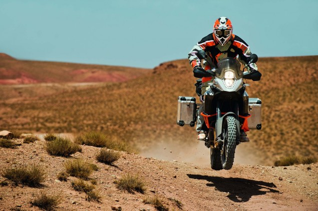 35 Photos of the KTM 1190 Adventure 2013 KTM 1190 Adventure R action 13 635x422