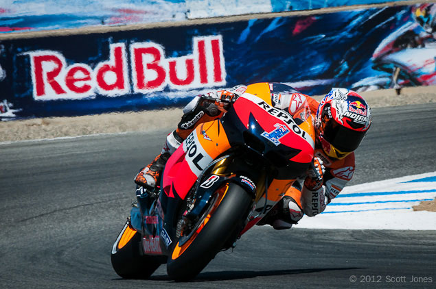 MotoGP: Casey Stoner to Return at the Motegi Round Casey Stoner Laguna Seca MotoGP Scott Jones