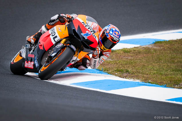 MotoGP: One Last Qualifying for the King of Phillip Island Casey Stoner Phillip Island MotoGP Scott Jones