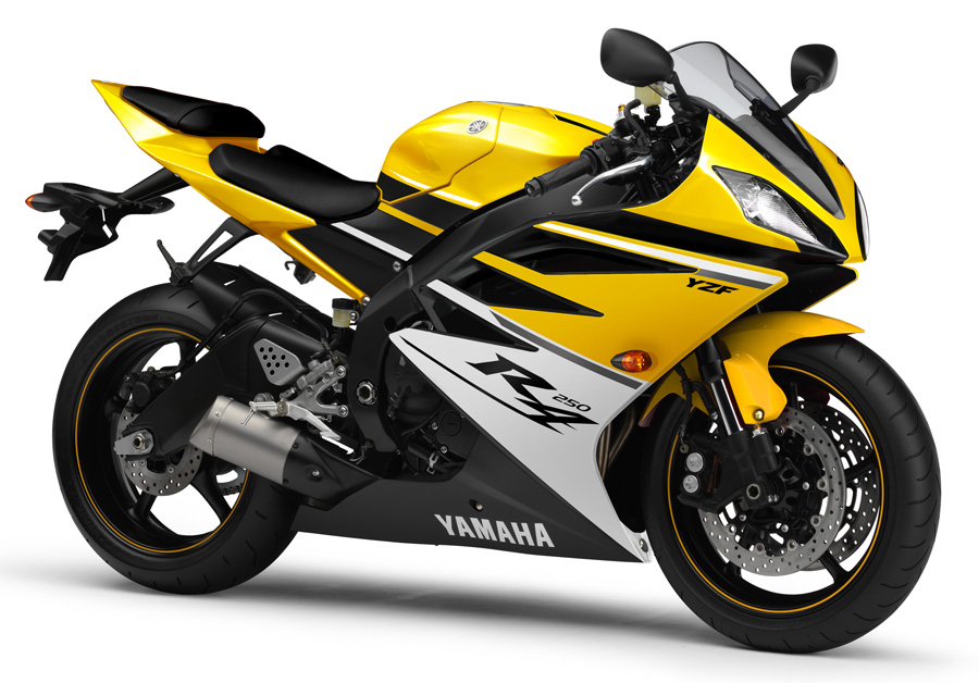250cc yamaha sport bike in the works asphalt rubber