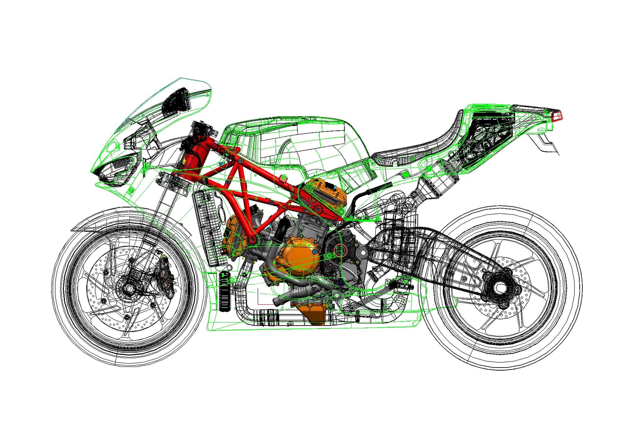 Мотоциклы чертежи рамы днепр 18