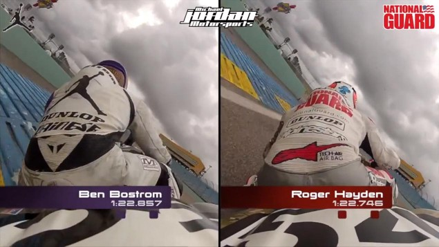 Video: Ben Bostrom vs. Roger Lee Hayden at Homestead Ben Bostrom Roger Lee Hayden National Guard Jordan Suzuki 635x357