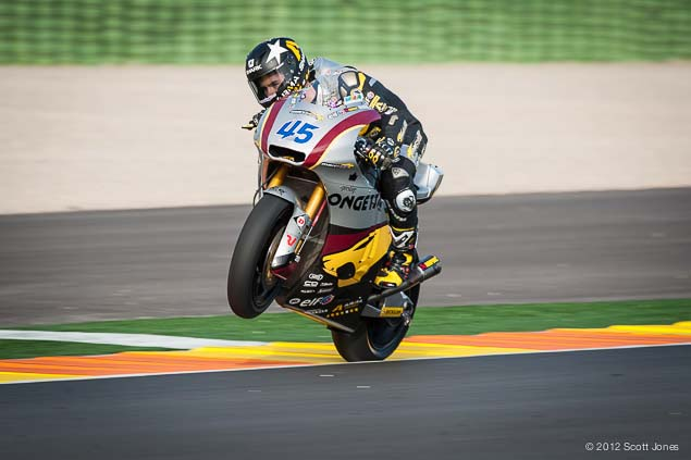 Monday at Valencia with Scott Jones Monday Valencia Test Moto2 Scott Jones 05