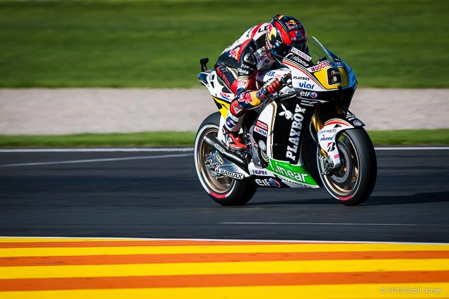 MotoGP: Bradl on a Factory Supported Honda Thru 2014 Stefan Bradl LCR Honda Valencia Scott Jones