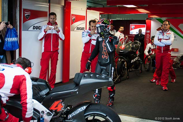 MotoGP: Andrea Dovizioso to Undergo Surgery Tuesday Valencia Test MotoGP Andrea Dovizioso Scott Jones