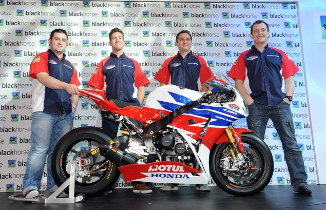 Honda TT Legends Fields Dream Team for 2013 2013 Honda TT Legends Team Launch 05 635x409