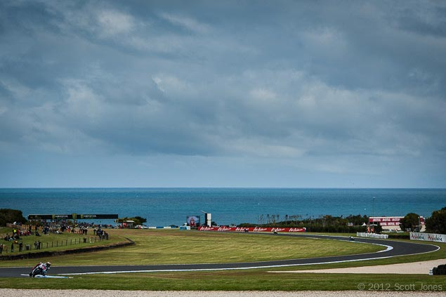MotoGP: Phillip Island Resurfacing Project Commences Casey Stoner Phillip Island MotoGP Scott Jones1