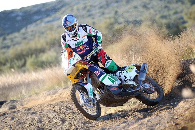 Confirmed: Marc Coma to Miss 2013 Dakar Rally Marc Coma KTM 450 Rally 635x423
