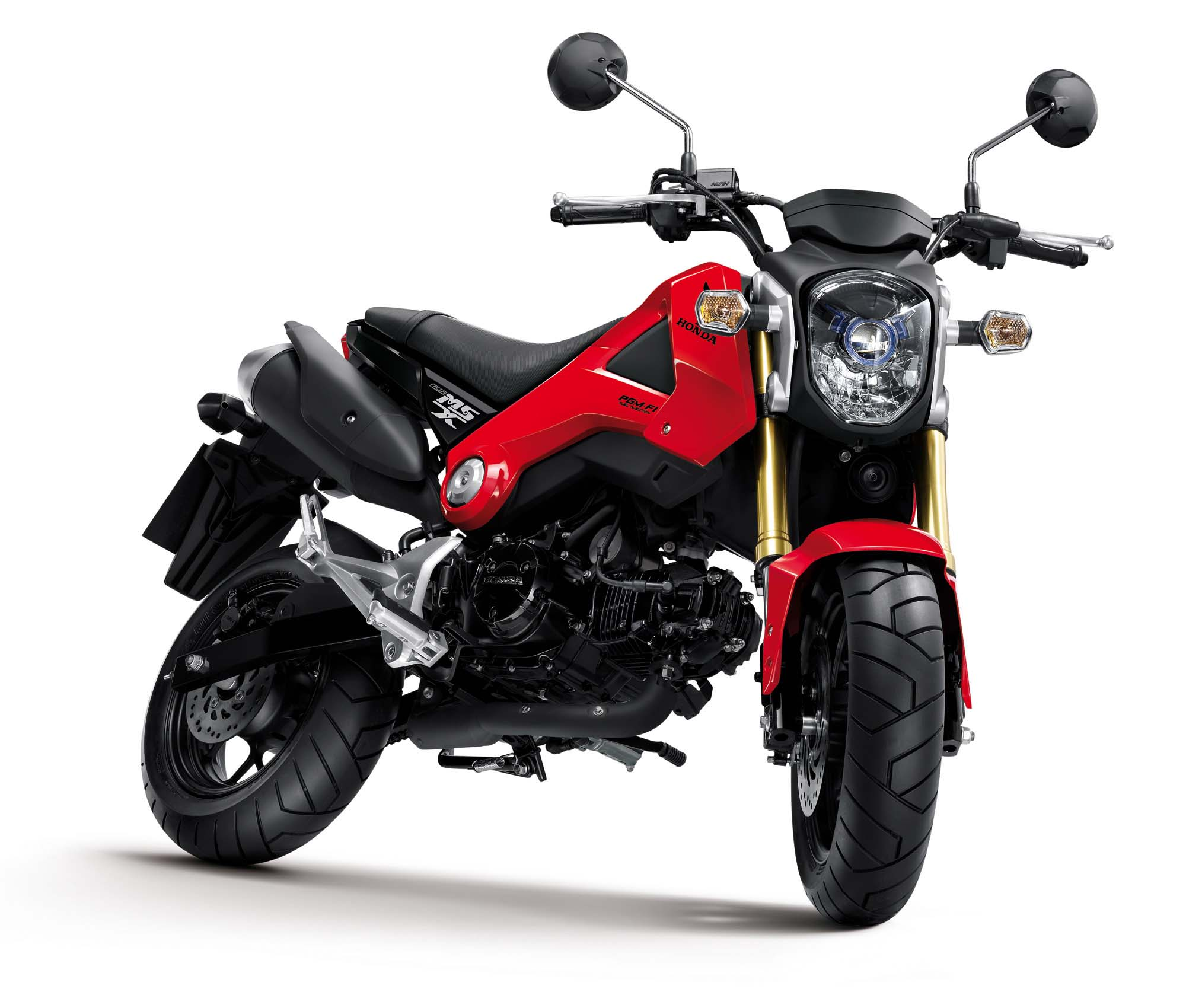Honda Msx125 Will Make A Monkey Out Of You Asphalt Amp Rubber