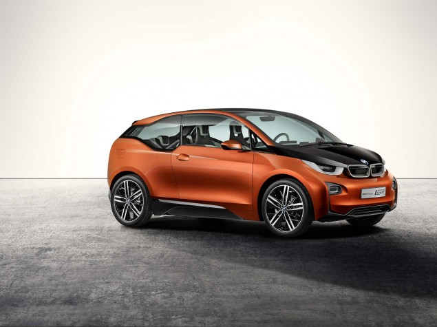 Brain Teaser: The BMW i3 Electric Car Will Have an Optional Gas Powered Motorcycle Engine in It BMW i3 concept 03 635x475