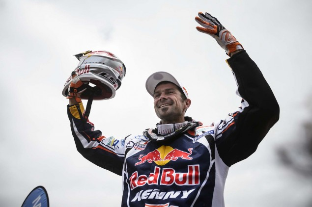 Cyril Despres Claims Fifth Dakar Rally Win Cyril Despres KTM 2013 Dakar Rally 07 635x422