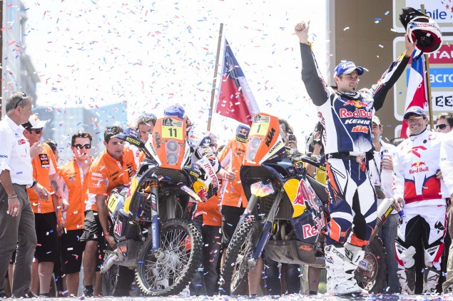 Cyril Despres Claims Fifth Dakar Rally Win Cyril Despres KTM 2013 Dakar Rally 12 635x422