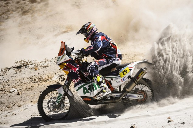 Dakar Rally   Stage 7: American Kurt Caselli Takes First Win Kurt Caselli KTM Dakar Rally USA 635x423